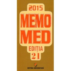 Memomed 2015 + ghid farmacoterapic alopat si homeopat