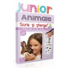 Scrie si sterge - Animale. Junior