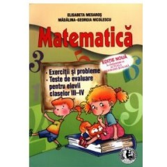 Matematica III-IV - Exercitii si probleme