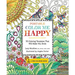 Portable Color Me Happy. Coloring Kit - Lacy Mucklow - Editura Race Point