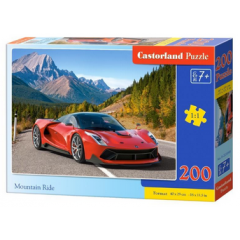 Puzzle 200 piese Mountain Ride - Castorland