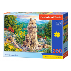 Puzzle 200 piese New Generation - Castorland