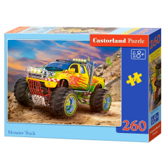 Puzzle 260 piese Monster Truck - Castorland