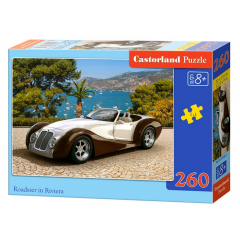 Puzzle 260 piese Roadster In Riviera - Castorland