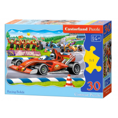 Puzzle 30 piese Racing Bolide - Castorland