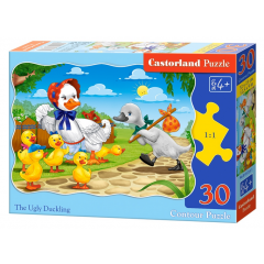 Puzzle 30 piese The Ugly Duckling - Castorland