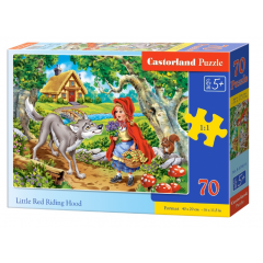 Puzzle 500 piese Little Red Riding Hood - Castorland