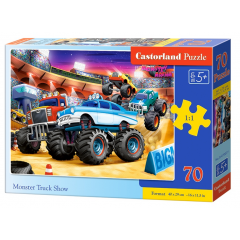 Puzzle 500 piese Monster Truck Showd - Castorland