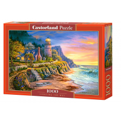 Puzzle 1000 piese Lighting The Way - Castorland