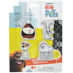 Radiera figurina 2D Secret Life of Pets