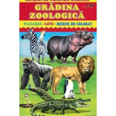 Gradina zoologica - Complet de materiale didactice
