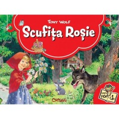 Scufita rosie - carte Pop-Up