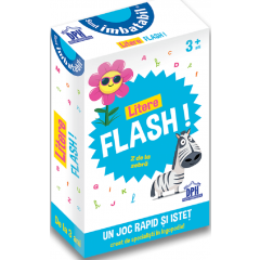 Sunt imbatabil. Litere flash! (3 ani+) - Editura Didactica Publishing House