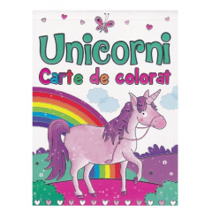 Unicorni. Carte de colorat - Brown Watson - Editura Flamingo