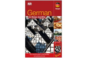 German In 3 Months (CARTE + 3CD)