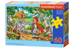 Puzzle 60 Piese Little Red Riding Hood 66117 - Castorland