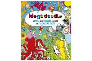 Megadoodle - Doodle and discover a world of fascinanting facts
