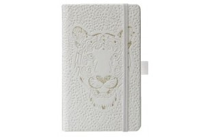 Bloc Notes Ivory Animals 9 X 14 cm 192 File Dictando Coperta cu Diverse Motive 9477790 - Herlitz