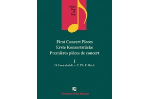 Piano step by step I - First concert pieces G. Frescobaldi - C.Ph. E. Bach