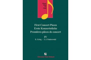 Piano step by step IV - First concert pieces E. Grieg - I.J. Paderewski
