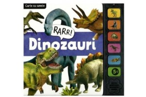 Dinozauri - Carte cu sunete - Flamingo Junior
