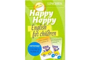 Happy Hoppy. English for Children. Cartonase: Culori si numere
