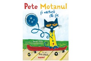 Pete Motanul si nasturii sai sic / Pete the cat and his four groovy buttons