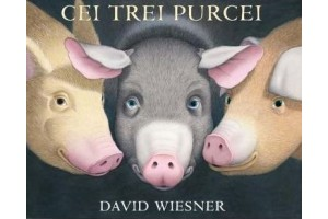 Cei trei purcei (The Three Pigs) - David Wiesner - Editura Art