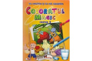 Ne amuzam si cu apa coloram – Coloratul magic 3 + penson