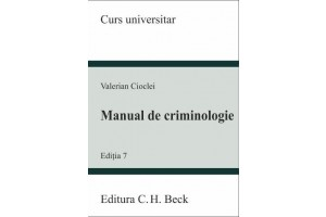 Manual de criminologie ed.7