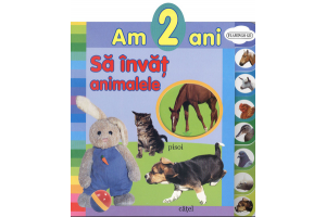 Am 2 ani - Sa invat animalele - Editura Flamingo