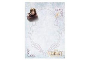 Bloc notes A6 50 file Hobbit & friends 1130701/4 Herlitz