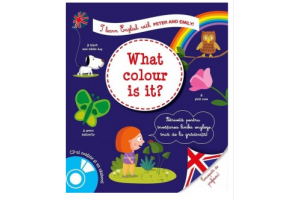 I learn English with Peter and Emily! What colour is it? + CD