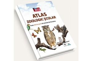 Atlas zoologic scolar + revista terra magazin