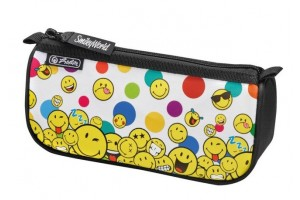 Necessaire Triunghiular Sport Smileyworld Rainbow Faces 50015344 - Herlitz
