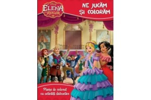 Disney-Elena din Avalor-Coloram si ne jucam