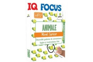 IQ FOCUS - Animale . Nivel Junior