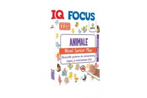 IQ FOCUS - Animale . Nivel Junior Plus