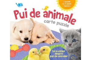 Pui de animale - puzzle