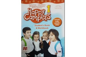 Happy Campers. Stuent's Book & Workbook - clasa a I-a + varianta audio gratuita online