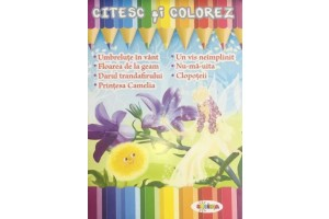 Citesc si colorez - Umbretule in vant