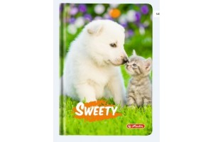 Agenda A6 Nedatata Sweety 352 File Motiv Puppy and Kitten 2019 / 9479880
