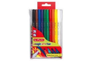 Carioca dubla magic 10/set 865140/8 Herlitz