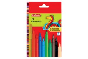Carioca 2mm 10/set green line 864913/9 Herlitz