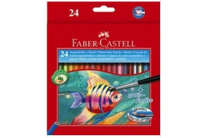 Creioane colorate acuarel 24/18 FC114425 Faber-Castell