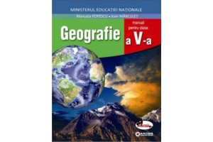 Geografie - Clasa 5 + Cd - Manual