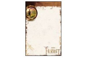 Bloc notes A6 50 file Hobbit MiddleEarth 1130703/0 Herlitz