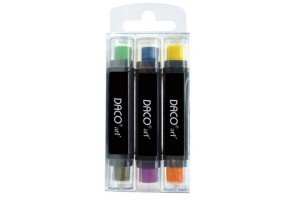 Pigment stampile 3/set PS001 Daco