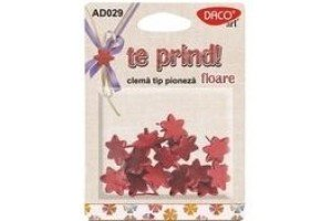 Clema tip poineza floare AD029 Daco