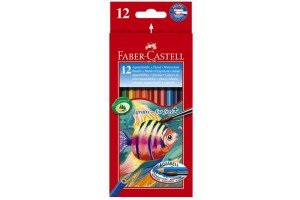 Creioane colorate acuarel 12/18 FC114413 Faber-Castell